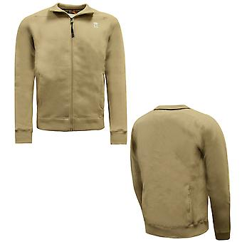 Nike Sports Deluxe Series Beige Training Mens Jacket 197388 255 X18A