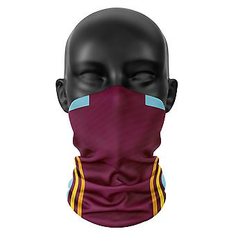 Burnley FC Farben Fußball Snood Gesicht Maske Hals Kopf Schal Buff Kopfbedeckung Tube