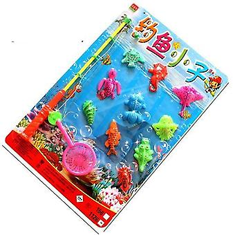 Wooden Magnetic, 3d Puzzle Fishing Toy