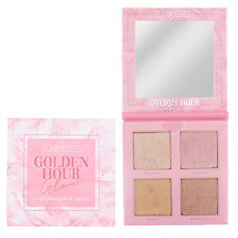 Sunkissed Golden Hour Glow Highlighter Palette 4 x 7g