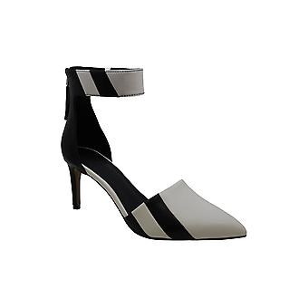1.STATE Womens Galin Cuir Pointed Toe Classic Pompes