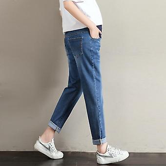كبير الحجم السراويل، فضفاضة واسعة الساق بالإضافة إلى الدهون النساء الحوامل الجينز، قابل للتعديل