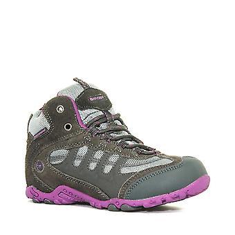 New Hi-Tec Girl's Penrith Waterproof Walking Boots Grey