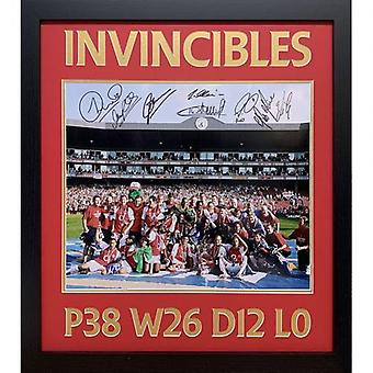 Arsenal Invincible Saison Signée Framed Print