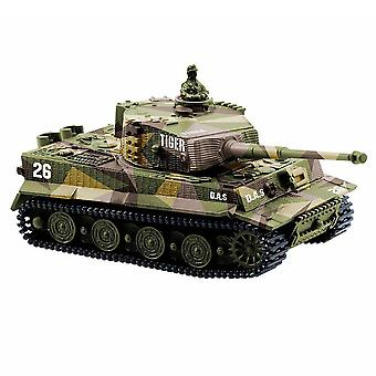 Nemecký Tiger Mini Diaľkové ovládanie Tank Car Nabíjanie Diaľkové ovládanie Auto Toy
