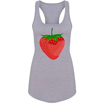 Erdbeere Frucht Naturprodukt Tank Frauen's -Bild von Shutterstock