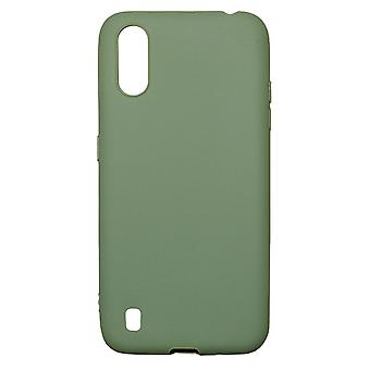 Ultra-Slim Case compatible with Samsung Galaxy A01 | In Green |