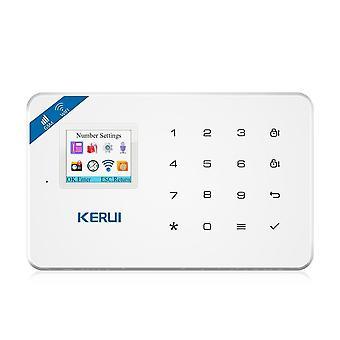 Trådløs Wifi Gsm Control Lcd, tyverialarm system til home security alarm