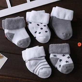 Infant Baby Sock, Newborn,, Cotton Toddler Socks, Winter Kids, Clothes