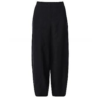 Crea Concept Straight Leg Linen Trousers