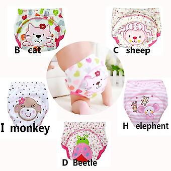 Baby Training Cotton Reusable Diapers Waterproof Nappies