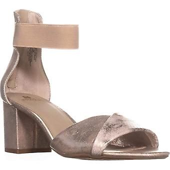 White Mountain Womens Evie Fabric Open Toe Casual Ankle Strap Sandals