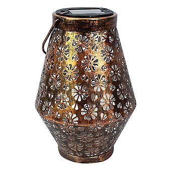 Солнечная питание садовый фонарь лист дизайн наружной газон двор фонарь привел свет декора висит лампа для балкона вилла творческой террасы