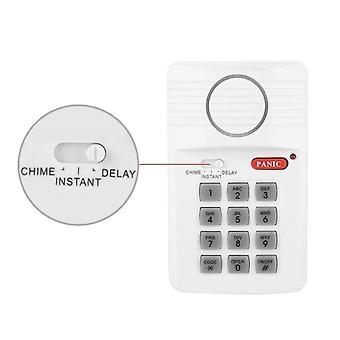 Clavier de sécurité d'alarme de porte avec le bouton de panique pour la maison, le bureau