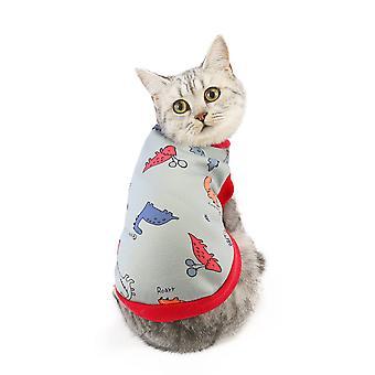 Warm autumn and winter pet cat clothes pet clothes