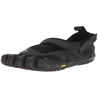 Vibram V-Aqua Ladies Water Sports Outdoor Five Fingers Grip Shoes - Black