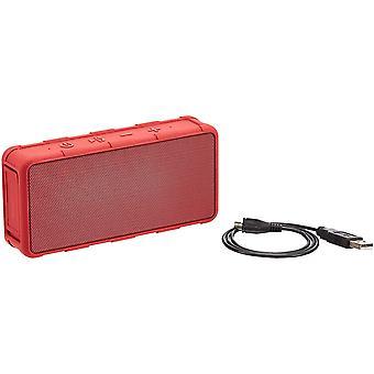 Tragbarer Bluetooth-Lautsprecher, für den Außenbereich, IPX5 wasserdicht, 5 W, Rot