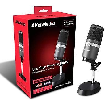 FengChun USB Mikrofon AM310 - Hochwertiges Aufnahmemikrofon, Nierencharakteristik, Plug&B USB