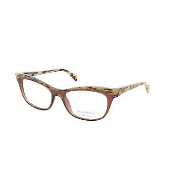 Face A Face Eyeglasses Frame GILDA 2 Col. 222 Acetate Chestnut Brown Safari