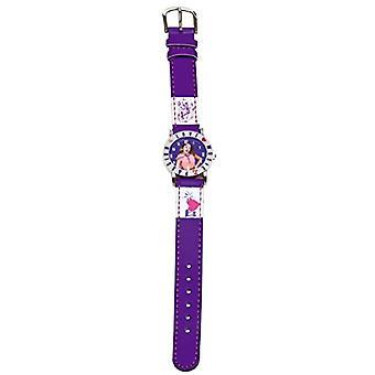 Disney 117014 - Tyttö rannekello, tekonahka, väri: monivärinen