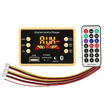 5v/12v Auto Usb Mp3 Player Bluetooth 5.0 Mp3 Dekooderin dekoodaus board moduuli Wma