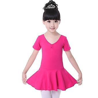 लड़कियों कपास जिमनास्टिक लियोटार्ड बैले ड्रेस