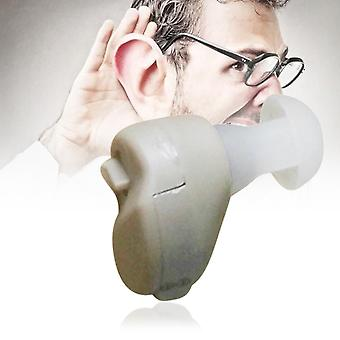 Small In-ear Voice Sound Amplifier Adjustable Tone Mini Hearing Ear Aid