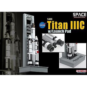 Titan IIIC on NASA Launch Pad Spacecraft