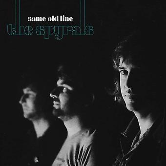 The Spyrals - Same Old Line Vinyl