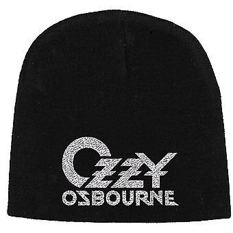 Ozzy Osbourne - Logo Unisex Beanie Hat - Black