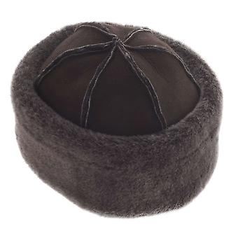 Ladies Genuine Double Faced Sheepskin Dome Hat