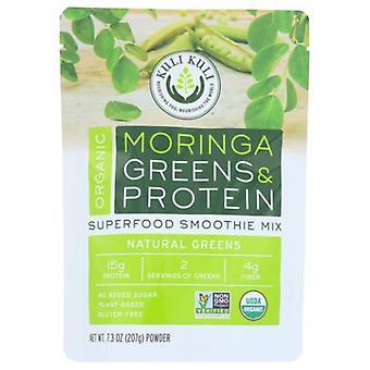 كولي كولي العضوية الخضر والبروتين سوبرفوود Smoothie ميكس، 7.3 أوقية