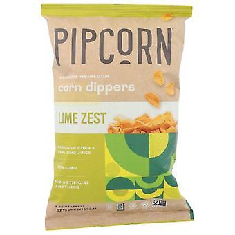 Pipcorn Corn Dipper Lime Zest, Fall av 12 X 9.25 Oz