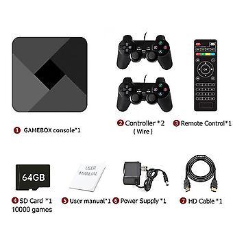 Hd süper x konsol 51000+ retro klasik oyun mini tv kutusu video oynatıcı kablosuz denetleyici