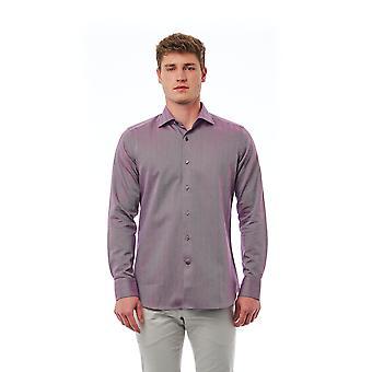 Bordeaux Bagutta men's shirt