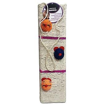 Nayeco Забавные мышиные стены царапины с вешалкой (кошки, игрушки, когтеточки)
