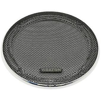 Visaton 10 R/134 (sw/chrom) Speaker grille