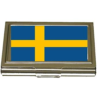 Korthållare - Sweden Flagga