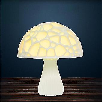 Sienilamppu Räjähdys Malli Kuulamppu 3D Tulostus Moon Lamppu Luova Pöytälamppu Yövalo