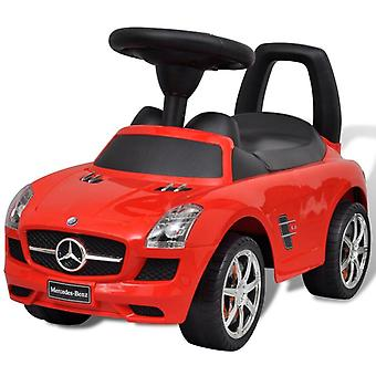 Mercedes Benz Foot-Powered Kids Car Red Children Riding Toy Vehicle