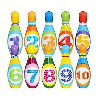 Kinder Pu Solid Bowling Play Set SportSpiel