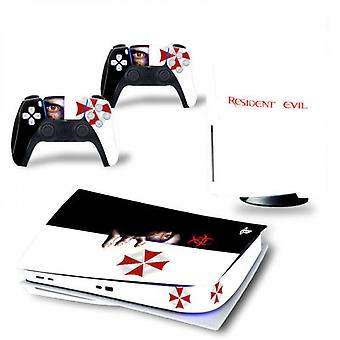 Ps5 Digital Edition Console And Controllers Skin Sticker