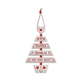 التاريخ وهيرالدري عيد الميلاد شجرة الديكور - نانا 269800018 اليد الخشبية وضعت