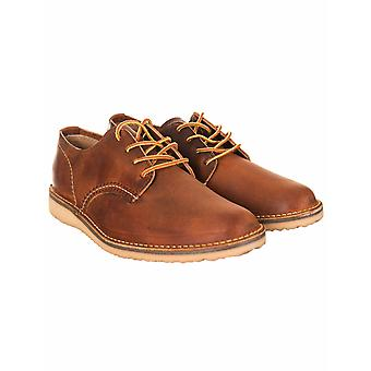 Red Wing 3303 Weekender Oxford Shoes - Copper Rough & Tough