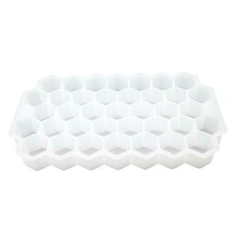 Silicone Frozen Honeycomb Ice Cube Tray Whiskey Mold Maker Diy Mould Tool