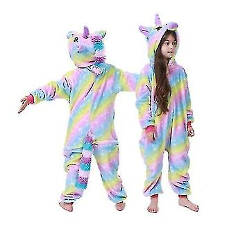Kids Winter Pajamas Children Sleepwear Unicorn Kigurumi Onesies Boys Girls Blanket Sleeper Baby