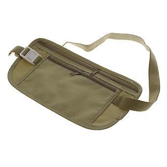 Boolavard® TM kadın cüzdan Seyahat Güvenlik Para Bilet Pasaport Tutucu bel paketleri Kemer çanta çanta