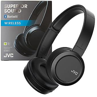JVC ανώτερη ηχητική Bluetooth ασύρματη στο αυτί ακουστικά-μαύρο (HAS50BTBE)