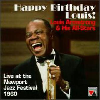 Louis Armstrong - Happy Birthday Louis!-Live at [CD] USA import