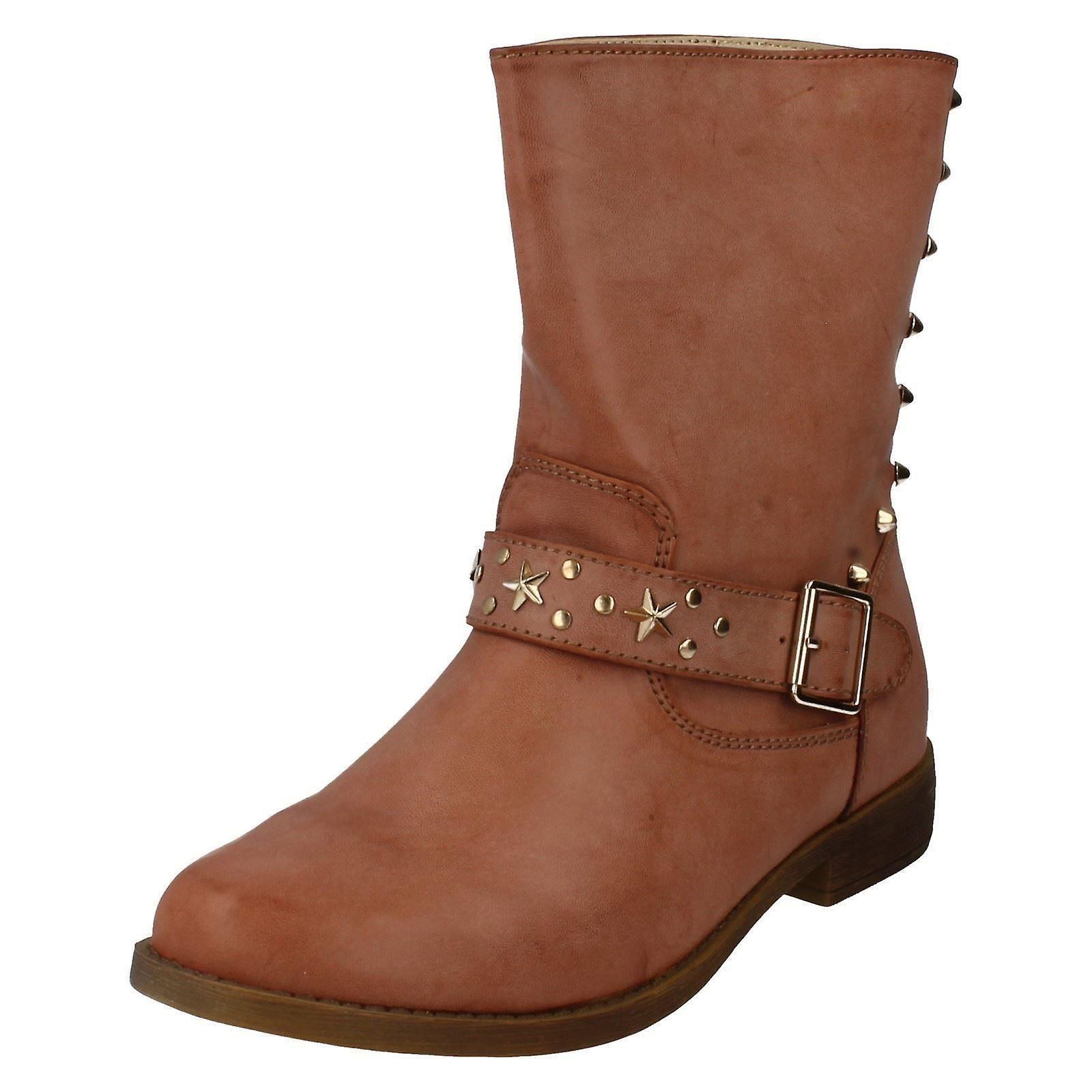 Panie w dół do ziemi kostki Style buty - F5843 05N12